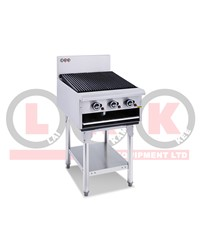 LKK 600mm GAS CHARGRILL - SKID:120KG 660x860x820mm