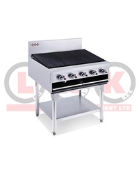 LKK 900mm CHARGRILL PKG: 171KG 1030x930x820mm