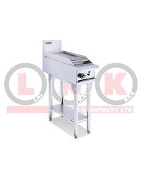 300mm GAS GRIDDLE WITH LEGS