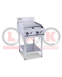 600MM GAS GRIDDLE WITH LEGS