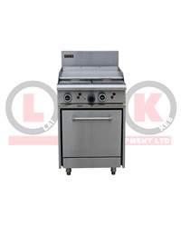 600mm GAS GRIDDLE + STD OVEN