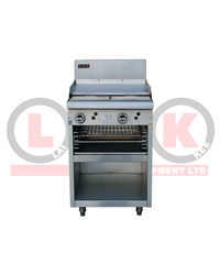 600mm GAS GRIDDLE + TOASTER