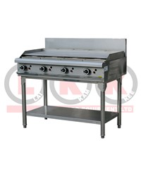 1200mm GAS GRIDDLE WITH LEGS